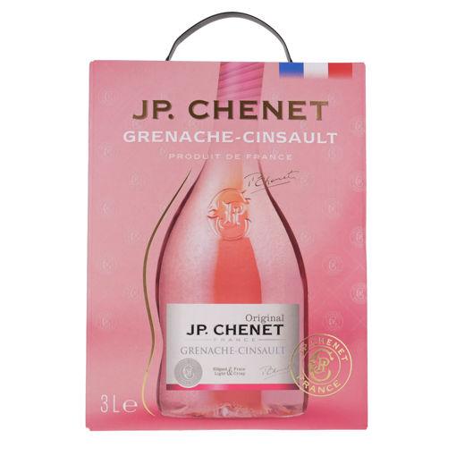 Afbeeldingen van J.P. CHENET CINSAULT-GRENACHE ROSE 3L