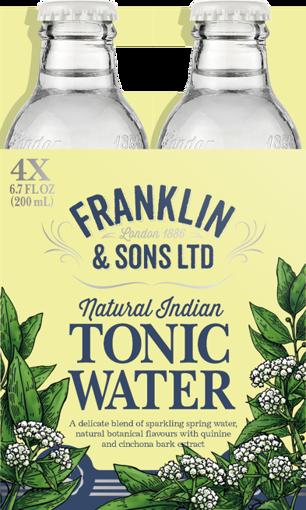 Afbeeldingen van FRANKLIN TONICS & MIXERS INDIAN TONIC 4X20CL